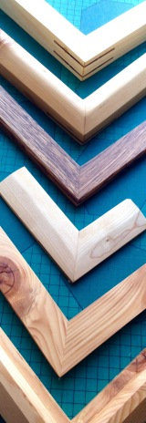Framing by Matt Gartside using reclaimed wood.